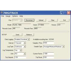 Fluke 700G/TRACK  softvér