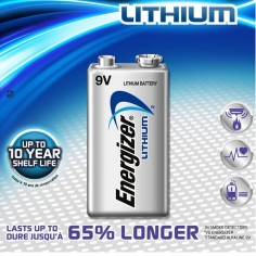 Energizer Lithium Battery -...