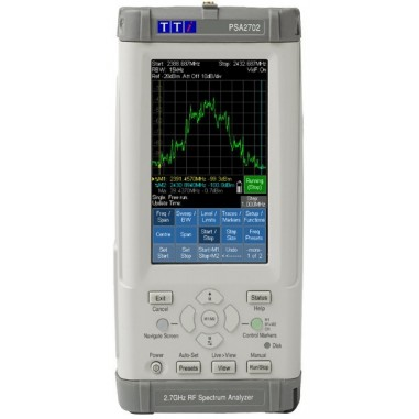 TTi PSA2702 - spektrálny analyzátor...