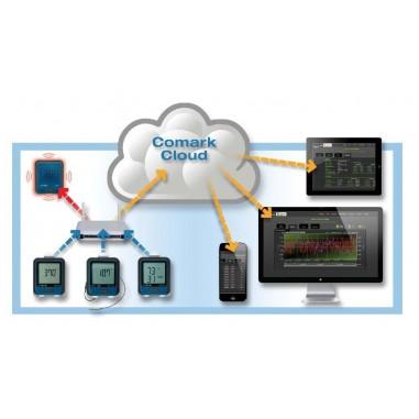WiFi Komár - COMARK RF300 Data Logger