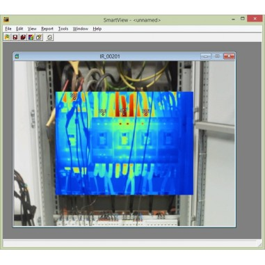 Fluke SmartView® - termografický program