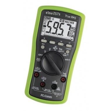 Elma 257s - šikovný TrueRMS multimeter