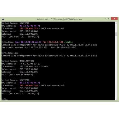 Elso - Command line PSU Configurator...