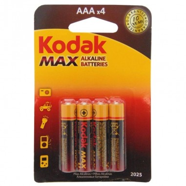 Alkalické batérie KODAK MAX balenie...
