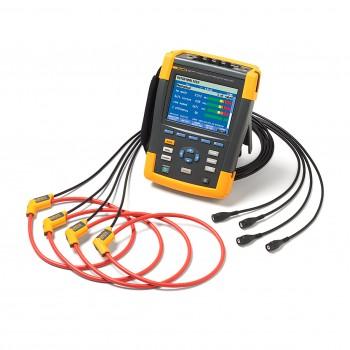 Fluke 438-II - multifunkčný analyzátor elektrickej siete a motorov