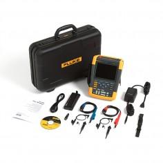 Fluke 190-202/S, 200 MHz 2 Ch. DMM ScopeMeter SCC Kit