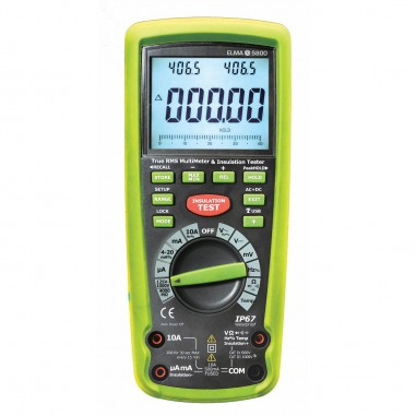 Elma 5800 - multimeter s meraním izolačného stavu (4GΩ)