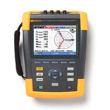 Fluke 437-II - 400Hz analyzátor kvality siete