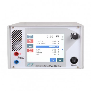 ET Instrumente ESL-Solar - elektronická záťaž