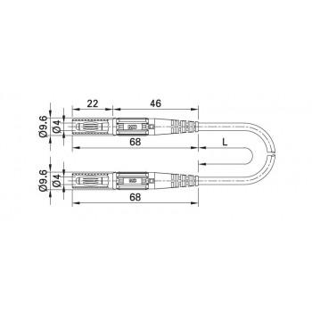 MC Stäubli XMS-418 - flexibilné šnúry s odolnou izoláciou (SIL)