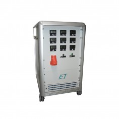 ET Instrumente EAQ-MT - motorom ovládaný AC zdroj