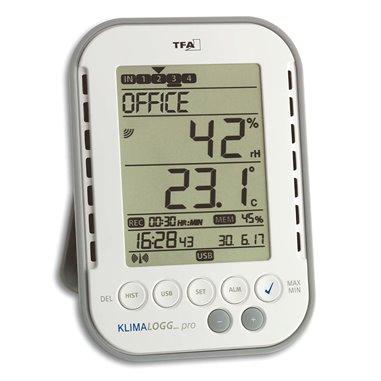TFA 30.3039.IT Klimalogg Pro Pavúk - profesionálny záznamník