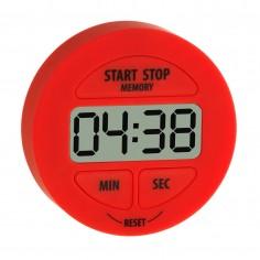 TFA 38.2022.05 digitálny časovač a stopky červvené