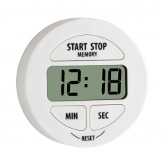 TFA 38.2022.02 digitálny časovač a stopky biele