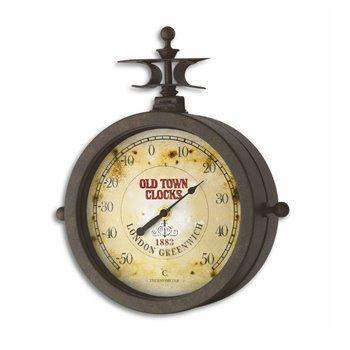 TFA 60.3011 'Nostalgia' hodiny na stenu a teplomer
