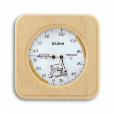TFA 40.1007 Teplomer a vlhkomer do sauny