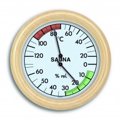 TFA 40.1006 Teplomer a vlhkomer do sauny