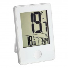 TFA 30.3051.02 POP - Bezdrôtový teplomer biely s vonkajším snímačom teploty