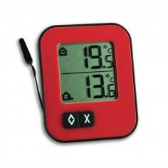 TFA 30.1043.05 Teplomer chladničkový / mrazničkový / akváriový  červený - EDT 1043*