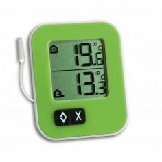TFA 30.1043.04 Teplomer chladničkový / mrazničkový / akváriový  zelený - EDT 1043*