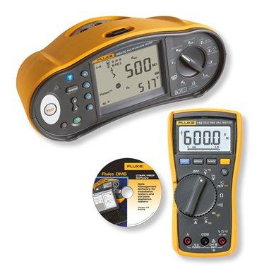 Fluke 1664 FC-TPL KIT - revízny prístroj s príslušenstvom zadarmo