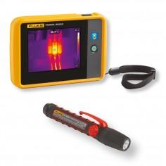 Fluke PTi120/FL45 - vrecková termokamera s baterkou zadarmo