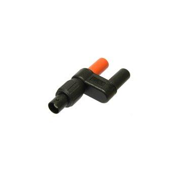 Elso 4F-BF - redukcia BNC/F na 4mm/F