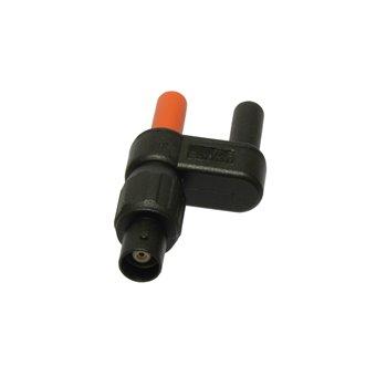Elso 4M-BF - redukcia BNC-F na 4mm-M