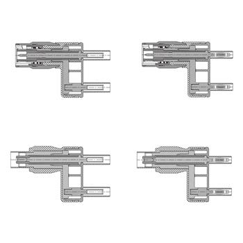 Elso 4B-KIT - sada redukcií BNC na 4mm