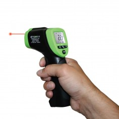 Elma 614A - Infrared thermometer with double lasersight