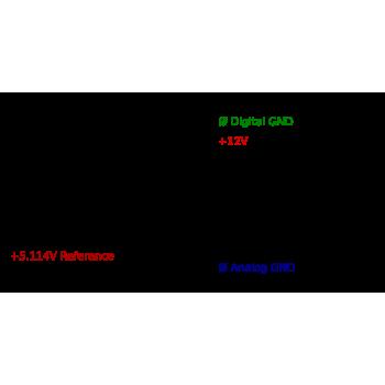 zapojenie konektora E na INT MOD ANA