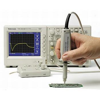 frekvenčné spektrum, pásmo 1MHz – 2.7GHz pri RBW 15kHz