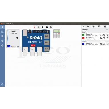 PicoLog 6 - software pre datalogger