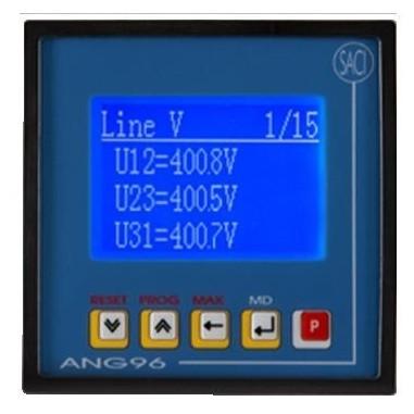 SACI ANG96 - trojfázový analyzátor...