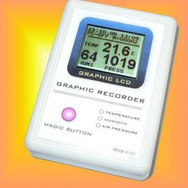 GRECO THP - Zapisovač teploty,...