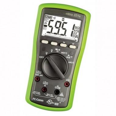 Elma 251s - zelený multimeter