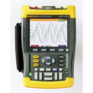 Fluke 199C/S ScopeMeter® s rozšírenou...